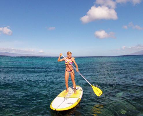 SUP Maui Hawaii